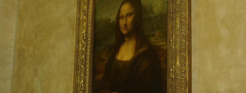 La Joconde, une œuvre de Léonard de Vinci.
